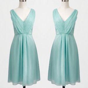 J.Crew Factory (NAVY) v-neck dress, size 6, NEW!